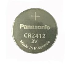 Panasonic CR2412 Lithium Cell Button Industrial Battery (1 Piece)