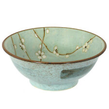 "Japanese 8.25""D Ramen Soup Noodle Bowl UME Plum Cherry Blossom /Made in Japan"