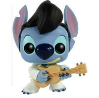 Funko Pop #127 ELVIS STITCH Playing Guitar 10cm Collectible Figure