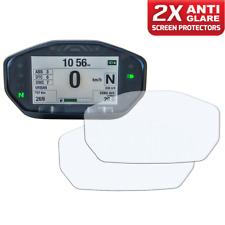 2 x DUCATI MONSTER 14+ instrumento/dashboard/Speedo protector de pantalla AG