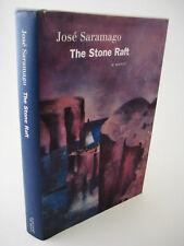 1st/1st Printing THE STONE RAFT Jose Saramago NOBEL PRIZE Modern Fiction RARE