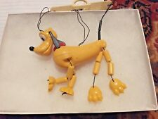 Walt Disney Productions [Hong Kong] Vtg Marionette Puppet ~ Pluto ~ Puppy Dog