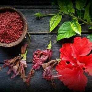 DRY HIBISCUS Leaves Powder GUDHAL leaves Powder And Organic Herbs Flower Tea