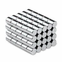 100stk Neodym Magnete N52 4X5mm Zylinder Runde Magnet Pinnwand Kühlschrank Büro