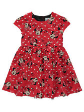 Girls Dress Disney Minnie Mouse Design Age 5-6 Years New
