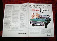 SINGER VOGUE SALES BROCHURE 8005/H 4/17/35 c1967