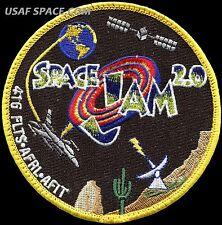 USAF 416th FLIGHT TEST SQUADRON - SPACE JAM 2.0 -Edwards AFB, CA- ORIGINAL PATCH