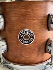 "Gretsch Catalina Club 8"" Tom in Satin Walnut with Humes & Berg Galaxy Bag"