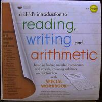 A CHILD'S INTRODUCTION reading, writing and arithmetic LP 87 VG Vinyl & Book