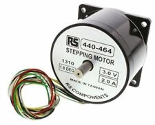 RS Pro unipolar híbrido motor gradual 1.8Â °, 1.2Nm, 3 V DC, 2 a, 8 Cables
