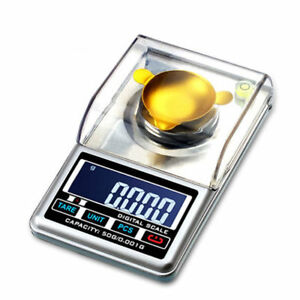 50g/0.001g High Precision Digital Jewelry Gold Scale Lab Analytical Balance