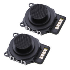 2PCS For Sony PSP 2000 Replacement 3D Analog Joystick Control Stick Button Black
