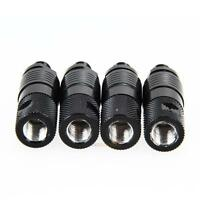 Great 4pcs Bite Alarm Quick Release Adapter Connector Carp Fishing Tackle Black