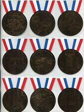 Garbage Pails Kids 2014 Series 1 Complete Bronze Medal Chase Card Set 1-10