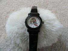 Taz Devil by Armitron Ladies Quartz Watch with a Black Band - Water Resistant