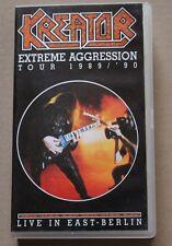 Kreator, Extreme Aggression Tour 1989 / '90, VHS, rar, rare