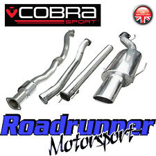 "Cobra Sport Astra GSi MK4 3"" Turbo Back Exhaust System NonRes & Sports Cat VZ03b"