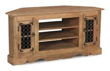 Jali Natural Sheesham Furniture Corner TV Unit (j1n)