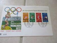 International stamps- Olympic-German 1972