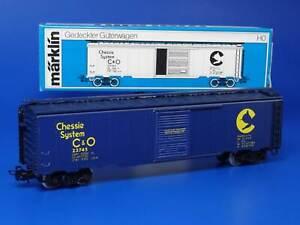 MARKLIN H0 - 4564 - USA COVERED TRUCK - Chessie System C&O // BOX - LN