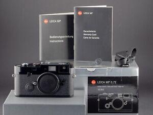 Leica MP 0.72 10302 Black Paint analog FOTO-GÖRLITZ Ankauf+Verkauf