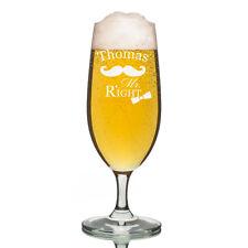 Leonardo VERRE PILS Verre à bière incl. GRAVURE MR. RIGHT