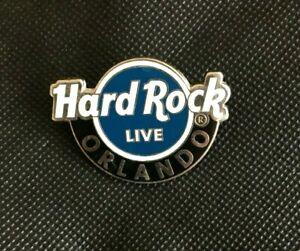 Hard Rock Cafe ORLANDO LIVE LOGO Pin Badge