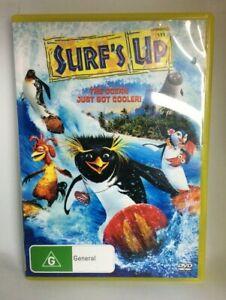 Surf's Up DVD Region 4 Voices of Shia Labeouf Zooey Daschenel Jeff Bridges