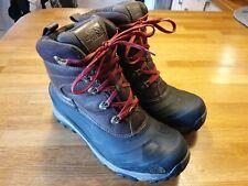 North face Mens Brown Hiking Boots Uk size 11 waterproof mountain heatseekers
