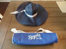 Kansas City Royals Game Souvenirs - Can Cooler and Sun Bonnet