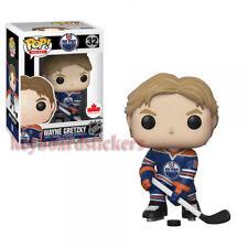 Funko Pop WAYNE GRETZKY Edmonton Oilers HOME JERSEY NHL Wave 3 Canada Exclusive