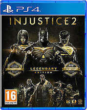 Injustice 2 Legendary Edition Ps4 Shrink Wrapped