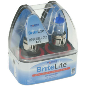 Daytime Running Light Bulb-Britelite Headlight Bulb Wagner Lighting BP9008BLX2