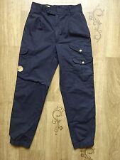 Women's Fjall Raven Navy Vintage Trousers/Pants Size 34 (W26 L29,5) , VGC !