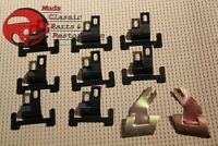 67 68 69 Camaro Firebird F Body Windshield Glass Lower Molding Clip Set Kit New