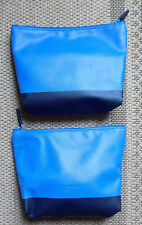 One New Lufthansa Jil Sander Navy Business Class Amenity Bag. Traveller Storage!