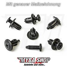 Remache de tornillo befestigungsclips Universal Clips Honda GM MAZDA # NUEVO#