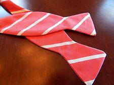 NWOT ROYAL HANAUER BOW TIE- Red/White Stripe