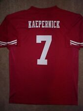 ($55) San Francisco 49ers COLIN KAEPERNICK nfl Jersey Youth *GIRLS* (L-LG-LARGE)