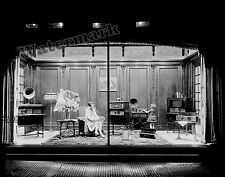 Photograph of Atwater Kent Radio Equipment Window Display  Year 1928  8x10