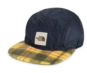 THE NORTH FACE Reversible Brown Label Cap In Summit Gold Rare