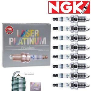 8 Pack NGK Laser Platinum Spark Plugs 2007-2009 Mercedes-Benz CLK550 5.5L V8