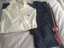 Mens Adidas Tracksuit, 34trs, 42/44 Top Navy,white New
