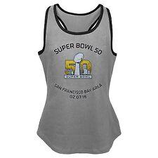 New Girls NFL Super Bowl 50 Fashion Tank Large (14)