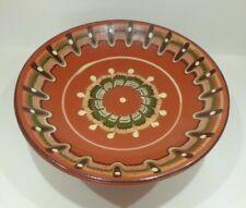 Ceramic Ethnic Pedestal Serving Dish Sweet Fruit Bowl