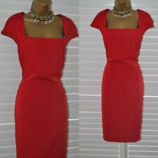 ~ COAST ~ Lady in Red Dress Size 16 Party Occasion Mother of the Bride