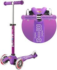 Micro Scooters PURPLE MINI DELUXE SCOOTER Outdoor Toys Sporting Goods BNIP