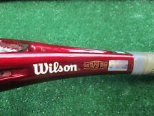 Tennis Wilson Staff DTS Tennis Racquet Light Use Original Beta Gel 4 1/2 XLNT