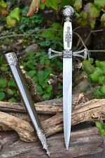 Ceremonial Masonic Dagger - Mason - St John - Freemasons - Knights Templar Sword