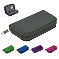 Nylon Memory Card Wallet 22 Micro SD SDHC Protecter Storage Holder Pouch Case